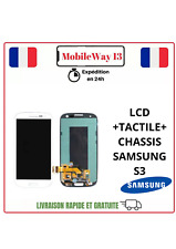 ECRAN COMPLET LCD+TACTILE SAMSUNG GALAXY S3 AVEC CHASSIS I9300  GARANTIE 6 MOIS