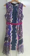 Beautiful Peter Pilotto shift dress with flowing silk panels - UK 14