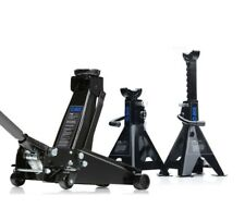 3 Ton Heavy Duty Trolley Jack With 4 Ton Ratchet Axle Stands