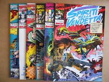 Collezione GHOST RIDER & BLAZE Spiriti della Vendetta 1-6 Comic Art  [G474]