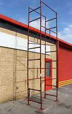 D.i.y Steel Scaffold Tower Scaffolding Tower 4x2'6x18'wh. in The 1 3/4 Tube