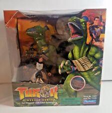 Playmates 1999 Turok Dinosaur Hunter Tribal Spinosaurus Toy Action Figure