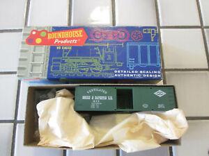 roundhouse GORRE & DAPHETID box car HO scale ////