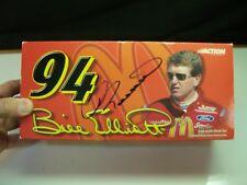 2000 Action 1:24 Scale Bill Elliott # 94 McDonalds Car MINT w/ AUTOGRAPHED BOX