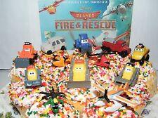 Disney Planes Fire and Rescue Set of 12 Cake Toppers with Dusty and Many More!
