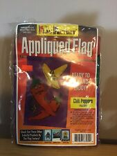 """The Flag Factory Appliqued Flag Chili Peppers 28"""" X 48"""" New!"""