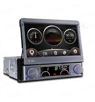 """AUTORADIO XTRONS 1 DIN GPS 7""""HD ESTRAIBILE DVD USB SD MP3 LOGHI LED COLOR MAPPE"""