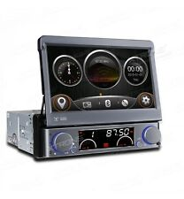 "AUTORADIO XTRONS D716G 1 DIN GPS 7""HD ESTRAIBILE DVD USB SD LOGHI AUTO LED COLOR"