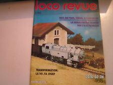 **c Loco revue n°468 BB 8100 / Les 141 TA Jouef / Le module signal SNCF
