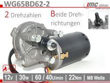 WG65BD62-2 Getriebemotor Ø62mm 12V 30W 65U/min 22Nm Torantrieb Braugerät Filter