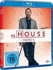 DR. HOUSE, Staffel 3 (5 Blu-ray Discs) NEU+OVP