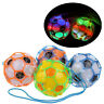 Child LED Light Jumping Ball Football Music Singing Soccer Kids Toddler Toys  HC
