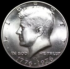"""Beautiful"" 1976-S Kennedy Half Dollar ""BU"" 40% SILVER Bicentennial US Mint Coin"