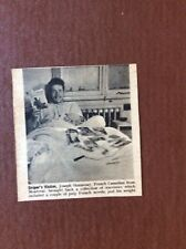 L1a Ephemera Ww2 1944 Picture Joseph Shainesay Montreal Wounded