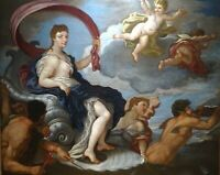 Large 17th century Italian Sea Goddess Amphitrite Giulio CARPIONI (1611-1678)