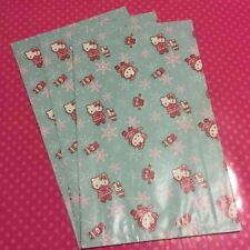 1155c8e04bc Vintage Sanrio Hello Kitty Large 2006 Holiday 5pc Paper Gift Bags