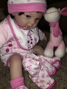 Paradise Galleries Tall Dreams Girl Reborn Doll Giraffe T13