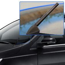 Universal 4.7 inch Car Antenna Carbon Fiber Radio FM Antena Black Kit + Screw
