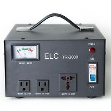 ELC TR-3000 3000Watt Voltage Regulator Transformer-Step Up/Down (110V/220V)