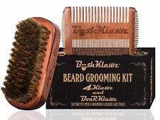 4Klawz Beard Comb & BoarKlawz Boar Bristle Beard Brush- Combo Set by BushKlawz