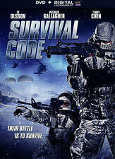 Survival Code (DVD, 2014) * NEW * [Cut Barcode]