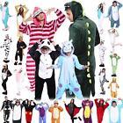 New Adult Unisex Dress Kigurumi Pajamas Animal Cosplay Costume Onesie Sleepwear