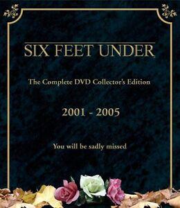 Six Feet Under Complete Season Series 1, 2, 3, 4 & 5 DVD Box Set R4 New Sealed