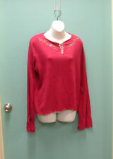Route 66 Ladies size Large Long Sleeve Cotton Shirt SRP $15