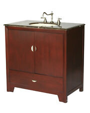 36-Inch Contemporary Style Single Sink Bathroom Vanity Model 2413-F Mxc