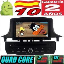 "ANDROID 10 RENAULT MEGANE III 2009-2014 RADIO 7"" RADIO COCHE GPS CAR SD WIFI 3G"