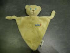 doudou ours marron bleu gallia 2