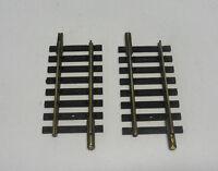 F6) 2 rails petits droits 56 mm FLEISCHMANN 1700/4 train electrique HO
