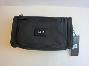 Tumi Accessories Toiletries Travel Kit Black Bag 3.75'' D x 11'' L x 6,25'' H