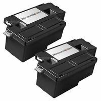 2pk Compatible Black Laser Toner Cartridge for Xerox WorkCentre 6015 106R1630