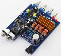 New TPA3116 + LM1036 + CSR4.0 Class D Bluetooth Amplifier Board 2.0 50W+50W