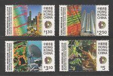 Hong Kong #799-802 (A157) VF MINT NH - 1997 World Bank / Monetary Fund Meeting