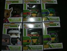 Funko 8-Bit Ninja Turtles Set (PLUS Funko Store Exclusive, Shredder, Splinter)