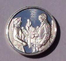 Franklin Mint Sterling Silver Mini-Ingot: 1953 Health Education and Welfare