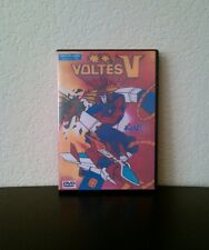 Voltes V - All 40 Anime Episodes on 5 Disc DVD - English Audio