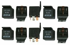 10 PACK 50 AMP 12V BOSCH STYLE CAR ALARM AUTOMOTIVE RELAY + SHIPS FREE TODAY!