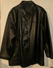 Woman's Leather Jacket Size 22