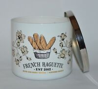 BATH & BODY WORKS FRENCH BAGUETTE SCENTED CANDLE 3 WICK LARGE 14.5OZ BREAD DOUGH