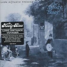 THE MOODY BLUES: LONG DISTANCE VOYAGER REMASTERED CD INC BONUS TRACK NEW