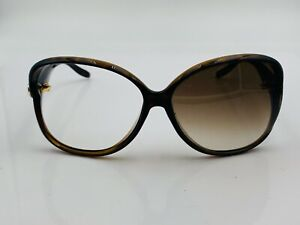 Gucci GG3525 Brown Oversized Oval Sunglasses Frames Italy
