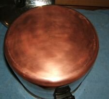 Revere Ware Copper Clad Stainless 10 Qt Stock Pot Dutch Oven With Lid Usa