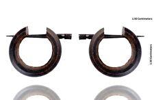 Tibetan Wooden African Handmade Tribal Black Organic Wood Stick Earring WER277