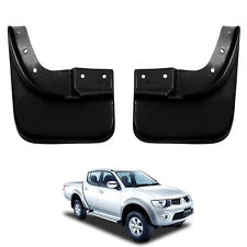 NEW Splash Guard Mud Flaps Fit 2005-14 Mitsubishi Triton Strada L200 Rear Pair