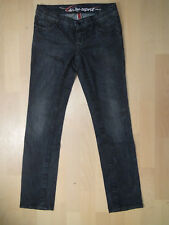 Damen Jeans EDC by Esprit  Five Gr. W 27 L 30 regular schwarz-ton stretch