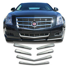 8PC ABS CHROME GRILLE GRILL TRIM FITS 2008 2009 2010 2011 CADILLAC CADY CTS