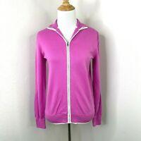 Polo Golf Ralph Lauren Sweater Women's Size S Pink Full Zip Athletic Jacket